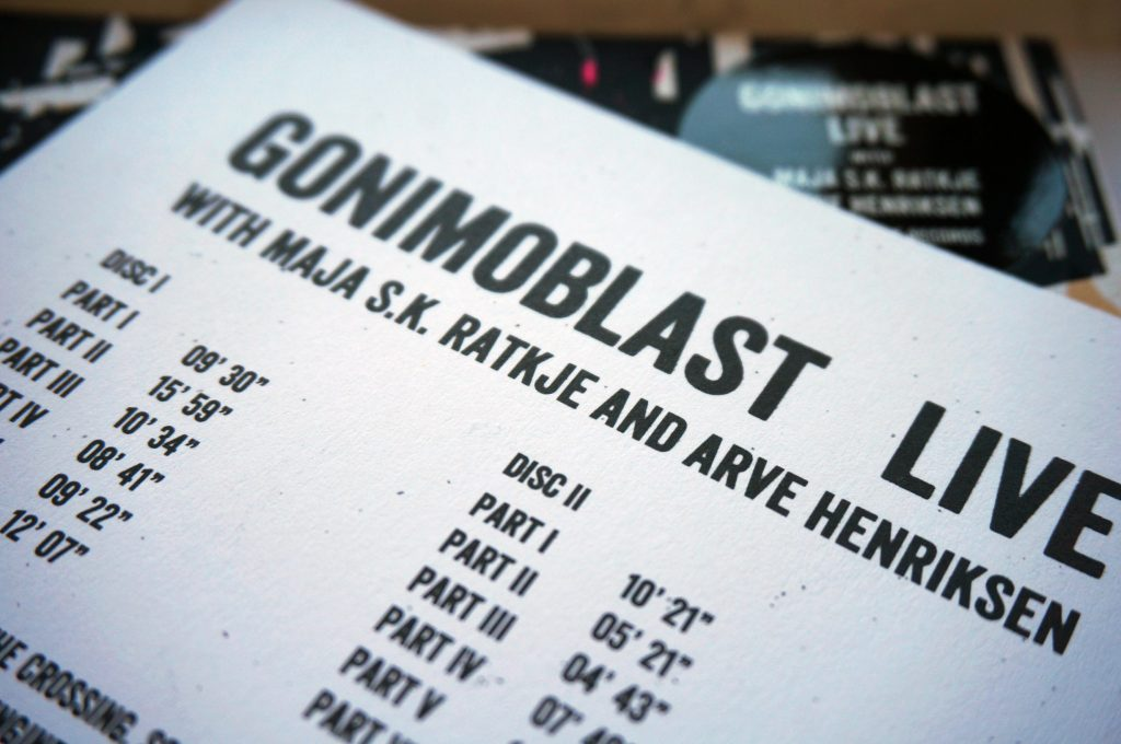 Gonimoblast Live - Stoney Lane Records #SLR1966