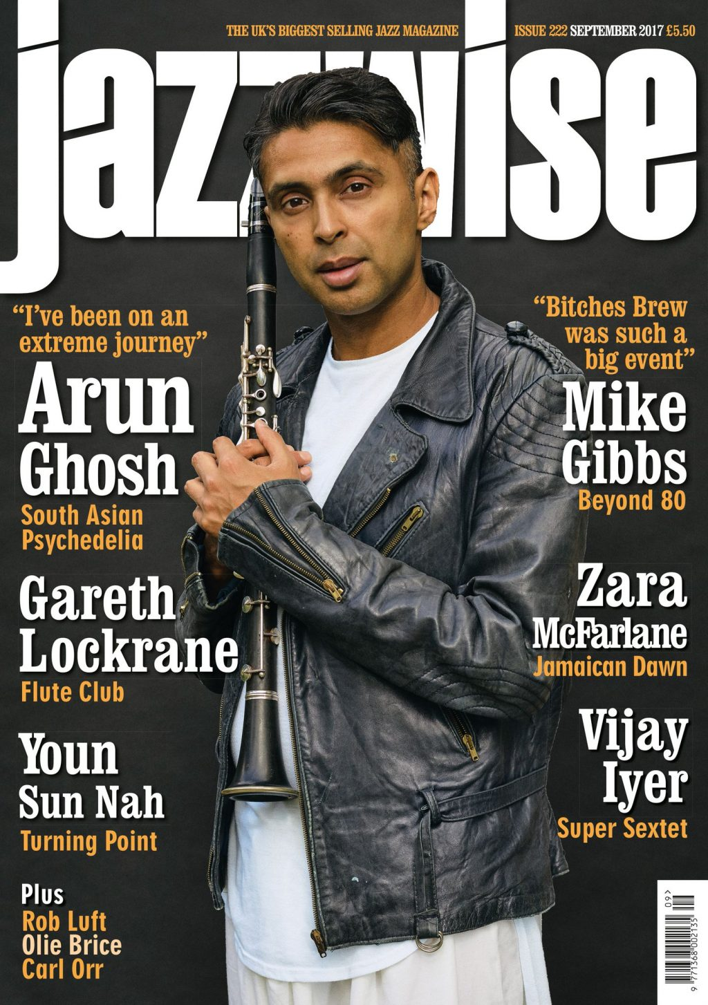 Jazzwise magazine cover September 2017