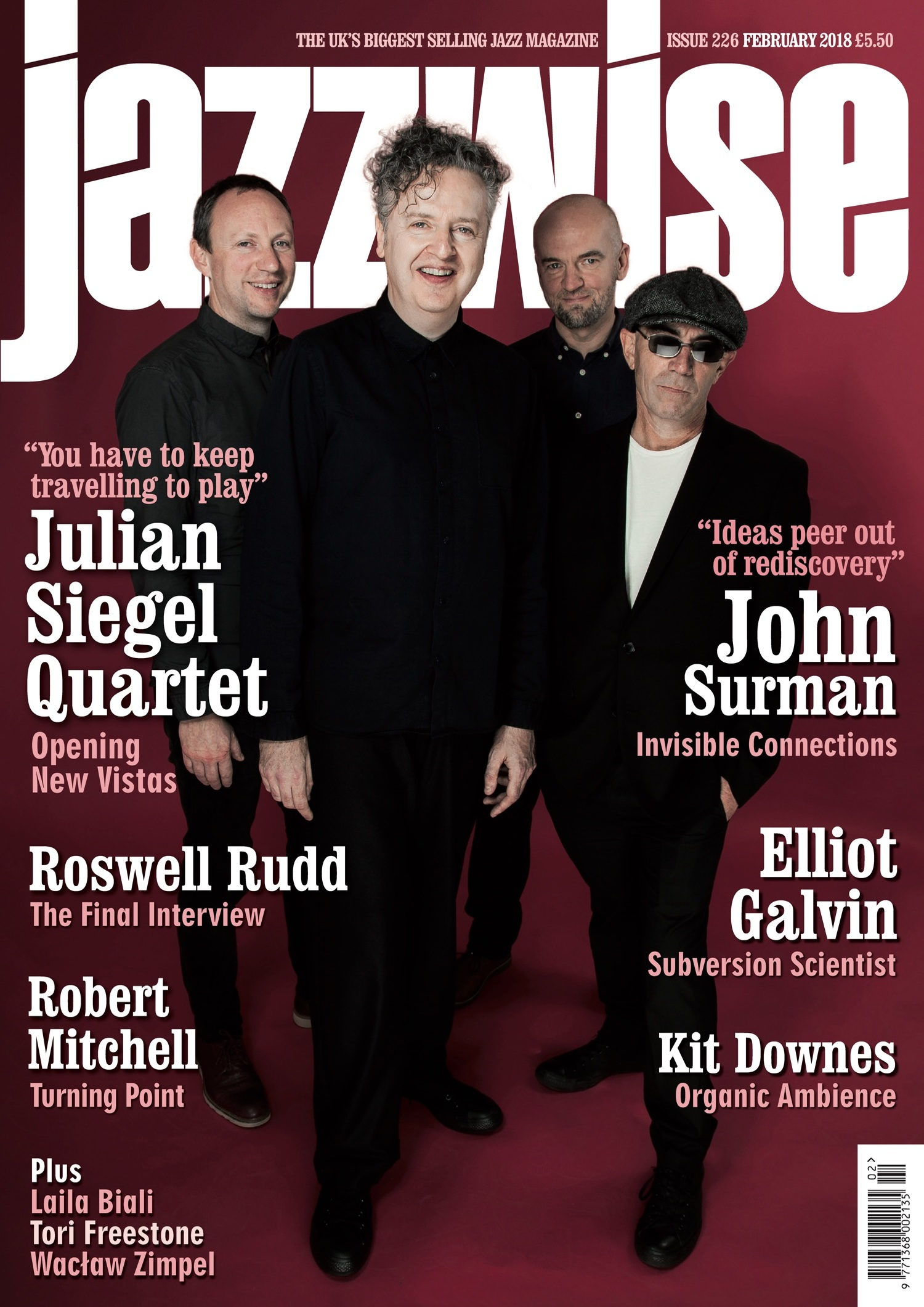 Jazzwise Magazine February 2018