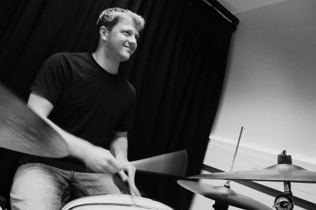 Jonathan Silk Drums - Stoney Lane Records - Photo by Jon Crosland-Mills