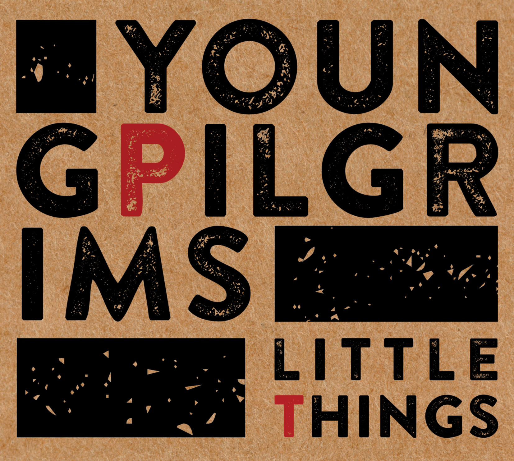 Young Pilgrims Little Things cover Stoney Lane Records