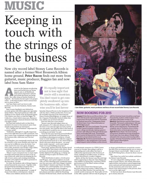 Birmingham Post & Jazz Breakfast Feature